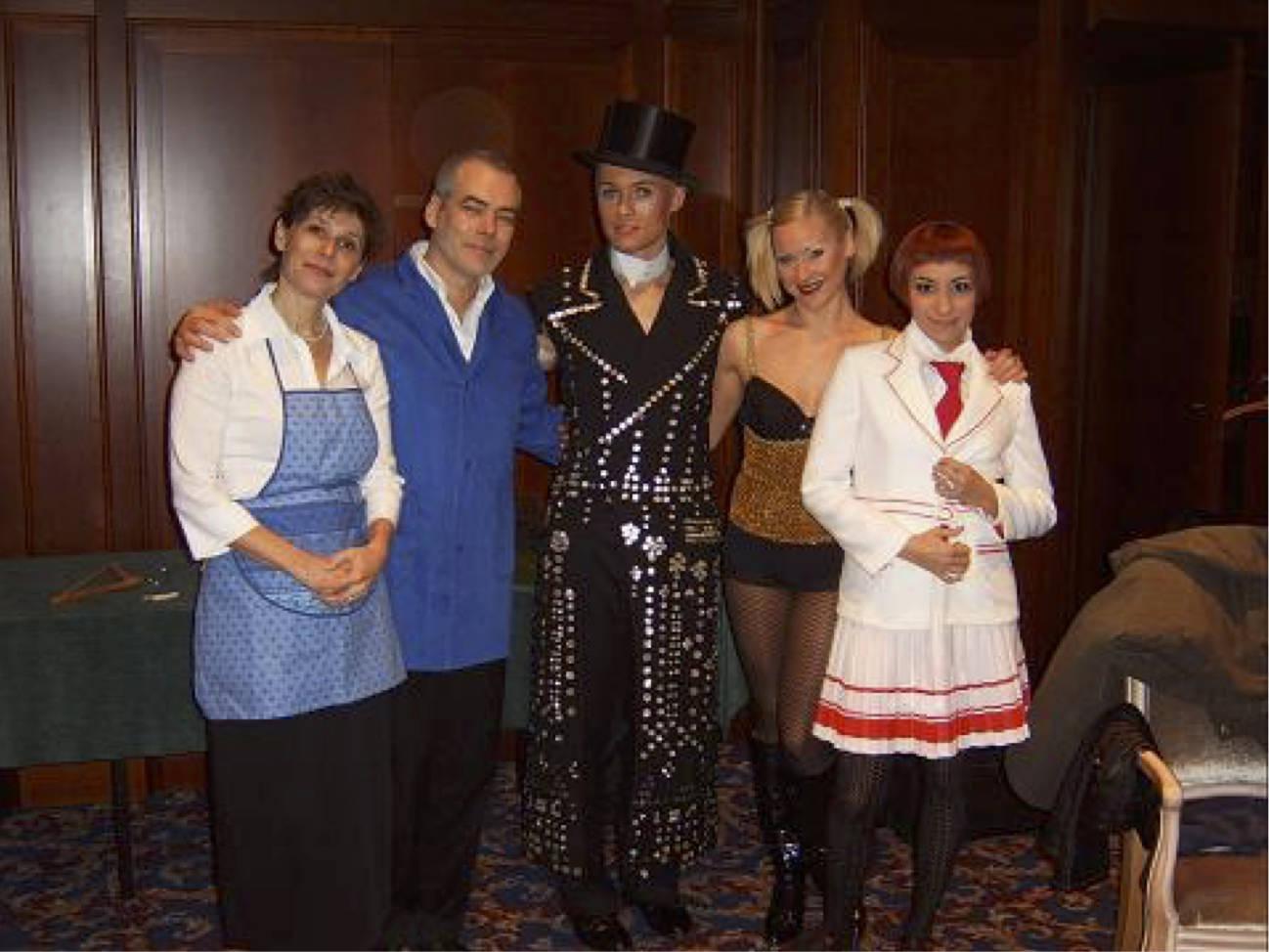 Cabaret-Gala, Adlon