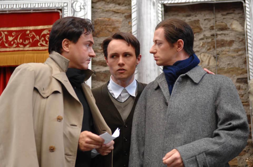 mit Andreas Barth (li.) und Reiner Philipp Kais